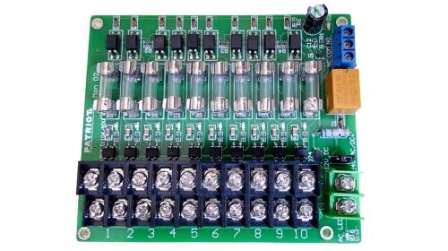 出口定制-电源分配板 电源分线器(可监控型 输出状态,带报警信号)